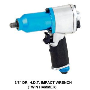 3/8 INCH DRIVE HDT Impact Wrench  - Powerful DIY Tool