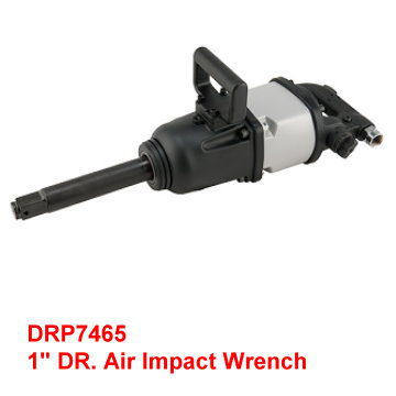 "1"" Air Impact Wrench with one side handle for more control during operation"