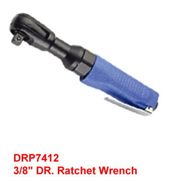 "3/8"" DR. Air Ratchet Wrench is designed with compact head design allows flexibility in tight area."