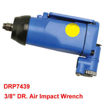 "3/8"" DR. Air Impact Wrench is designed with Composite gun body, light weight, not easy deformation, good air tightness."
