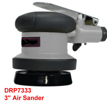 "3"" Air Sander is designed with powerful Drop-In replaceable motor."