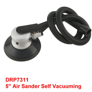 "5"" handy Air Sander Includes built-in dust collecting bag and hose."