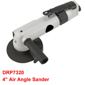 "4"" Air Angle Sander is designed with built-in regulator to control speed."