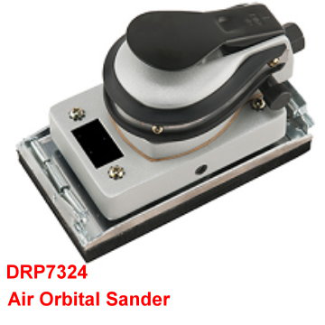 Air Orbital Sander is designed in compact size for one-hand operation.